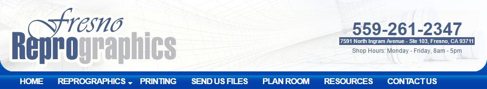 Fresno reprographics online planroom send us your files malvernweather Gallery
